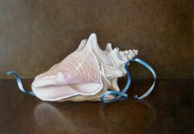 Conch Shell and Ribbon