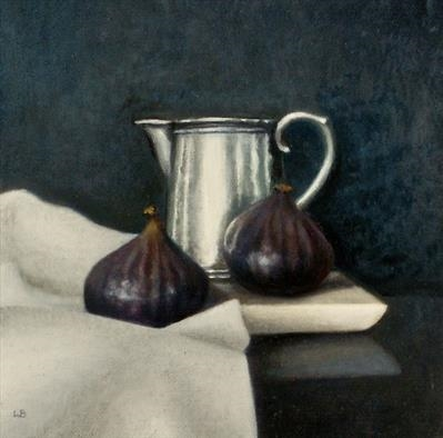 Two Figs and Silver Jug