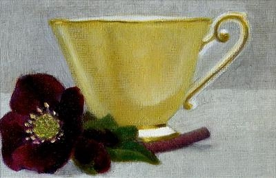 Yellow Cup and Hellebore II