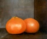 Clemantines by Linda Brill, Painting, Oil on Board