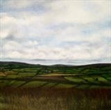 From the Moors by Linda Brill, Painting, Oil on Board