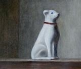 Good Boy by Linda Brill, Painting, Oil on Board