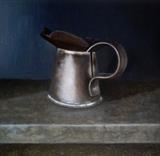 Half Pint Measure by Linda Brill, Painting, Oil on Board
