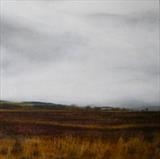 North York Moors by Linda Brill, Painting, Oil on Board