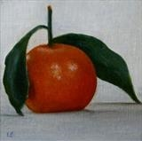 Orange by Linda Brill, Painting, Oil on Board