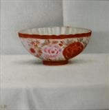 Patterned Bowl by Linda Brill, Painting, Oil on canvas