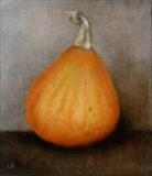 Squash by Linda Brill, Painting, Oil on Board