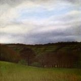 Tenterfields by Linda Brill, Painting, Oil on Board