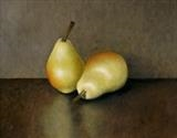 Two Williams II by Linda Brill, Painting, Oil on panel